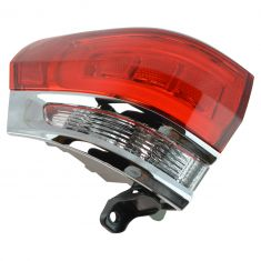 14-15 Jeep Grand Cherokee (exc SRT) Outer 1/4 Panel Mounted Taillight (w/Chrome Insert) LR