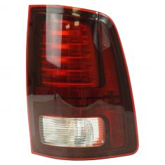 13-17 Ram 1500; 13-16 2500, 3500 L.E.D. Design w/Black Trim Taillight RH