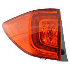 16-17 Honda Pilot Outer 1/4 Panel Mounted LED Taillight LH