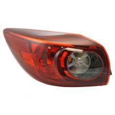 13-16 Mazda 3 Hatchback Outer taillight (exc LED) LH