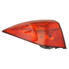 17-18 Toyota Corolla (w/LED Reverse Light & ALL Red Lens) Outer Taillight LR