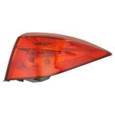 17-18 Toyota Corolla (w/LED Reverse Light & ALL Red Lens) Outer Taillight RR