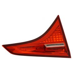 17-18 Toyota Corolla (Trunklid Mounted) ALL RED (w/LED Reverse Light) Taillight Assembly LR