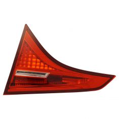 17-18 Toyota Corolla (Trunklid Mounted) ALL RED (w/LED Reverse Light) Taillight Assembly RR
