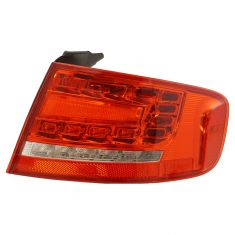 09-12 Audi A4 Sdn; 10-12 S4 Sdn L.E.D. (RPO 8SL) Outer Taillight Assembly RR