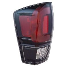 17-18 Toyota Tacoma Black Tail Light LH