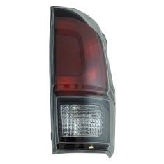 17-18 Toyota Tacoma Black Tail Light RH