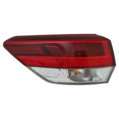 17 Toyota Highlander Outer Tail Light LH