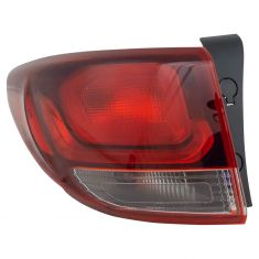 17-18 Hyundai Santa Fe Outer Tail Light LH (exc LED)