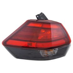 17-18 Nissan Rogue Outer Tail Light LH