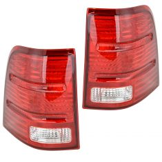 2002-05 Ford Explorer Tail Lights Pair 4 door