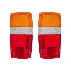 1984-89 Toyota PU 4 Runner Tail Light Lens Pair
