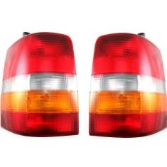 93-98 Jeep Grand Cherokee Grand Wagoneer Tail Light Pair