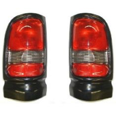 1994-01 Dodge Ram pickup Sport Tail Light Pair