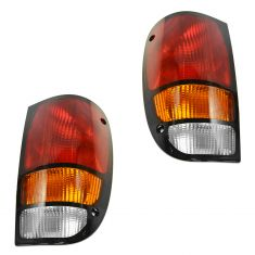 1994-00 Mazda Pickup Truck Tail Light Pair