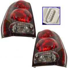 02-09 Chevy Trailblazer Taillight w/Circuit Boards PAIR