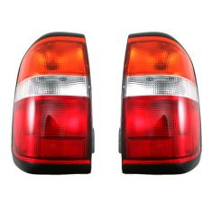 1996-99 Nissan Pathfinder Tail Lamp Pair (thru 11/98 Prod Date)