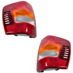 2003-04 Jeep Grand Cherokee Tail Lights Pair
