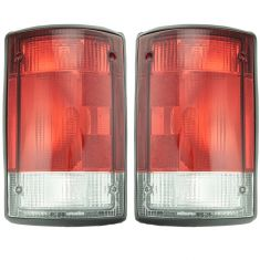 95-06 Ford Van Excursion Taillight Pair