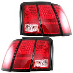 99-04 Mustang (Base) Taillight Pair
