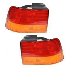 92-93 Accord Cpe Sdn Outer Taillight Pair