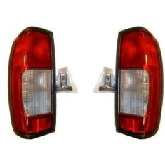 98-00 Nissan Frontier Pickup Taillight Clear Lens - Pair