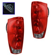 02 Chevy Avalanche Taillight Pair