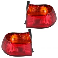 99-00 Honda Civic Sedan 1/4 Mtd Taillight Pair