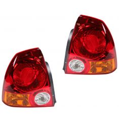 2003-06 Hyundai Accent Tail Light Pair