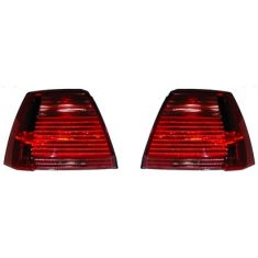 2004-05 Mitsubishi Galant (Except GTS) Tail Light Pair