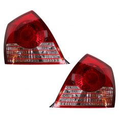 2004-06 Hyundai Elantra Tail Light Pair Sedan