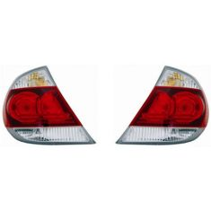05-06 Toyota Camry SE Taillight With Black Trim Pair