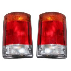 92-94 Ford Van Taillight Pair