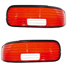 1994-96 Chevy Impala Taillight Lens Pair