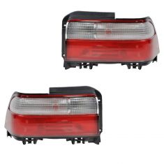 1996-97 Toyota Corolla Sedan Taillight Pair
