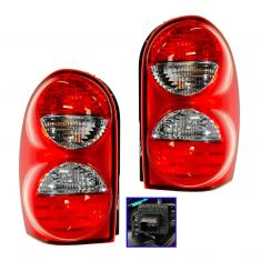 05-07 Jeep Liberty (w/o Guard Prov) Taillight Pair