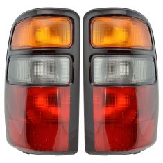 2004-06 Chevy Tahoe Tail Light Pair