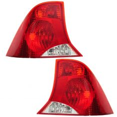 2000-04 Ford Focus Tail Light Pair for Sedan