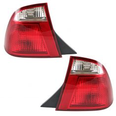 05-07 Ford Focus Tail Light Pair for Sedan