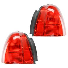 03-07 Lincoln Town Car Tail Light Pair