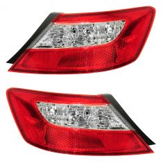 06-07 Honda Civic Tail Light Pair for Coupe