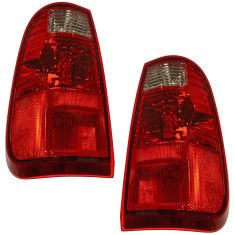 08-09 Ford F250SD F350SD Super Duty Pickup Tail Light PAIR