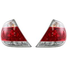 05-06 Toyota Camry LE XLE Tail Light Japan Made Pair