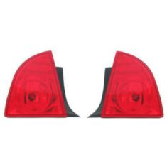 2008-09 Chevy Malibu LS LT Quarter Mounted Tail Light Pair