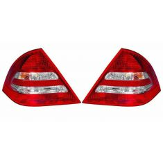 2005-07 Mercedes C Class SDN Taillight PAIR
