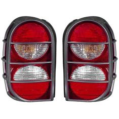 2005-07 Jeep Liberty Taillight (w/Guard) PAIR