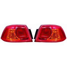 2008-10 Mitsu Lancer, 08 Evo Outer Taillight PAIR