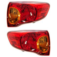 09-10 Toyota Corolla Outer Taillight PAIR