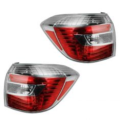 08-10 Toyota Highlander hybrid Taillight PAIR