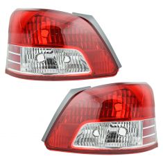 06-11 Toyota Yaris SDN (Base Model) Taillight PAIR